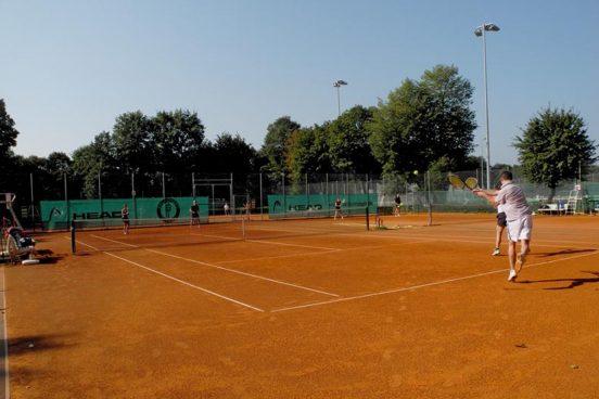 Perfektes Tenniswetter!
